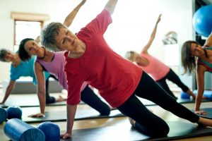 Pilates e terza età