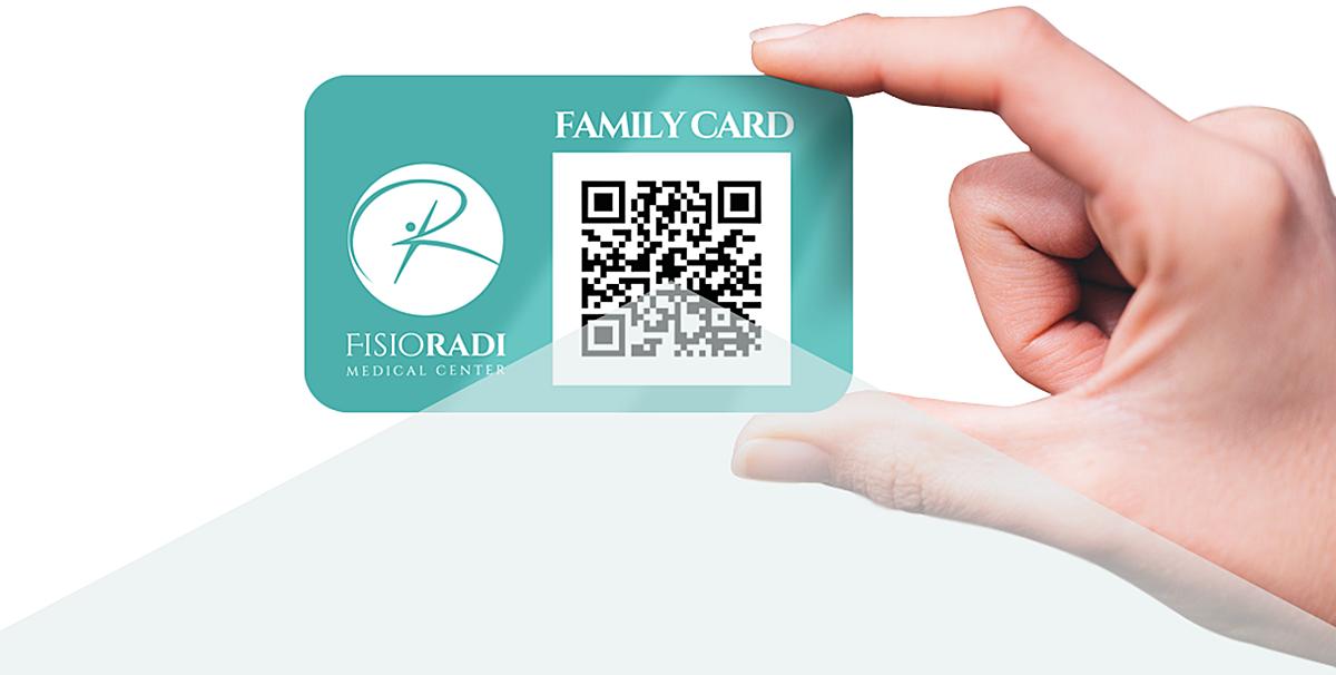 family card header